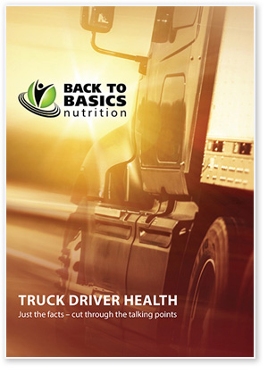 Fatigue pack for truck drivers